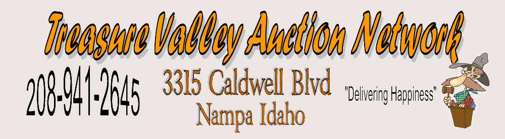 Treasure Valley Auction Network Nampa Idaho