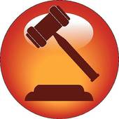 gavel button or icon clip art vector k1584130